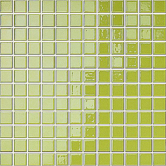Mozaika Palette Zielona 30x30