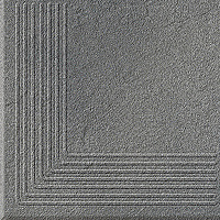 Solar Szary Stopnica Narożna 3-D 30x30