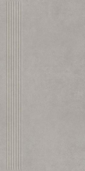 Intero Silver Stopnica Prasowana Mat 29,8x59,8