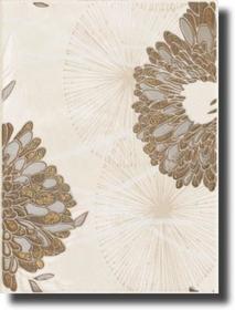 Oktawa Beige Inserto Kwiat B 25x33,3