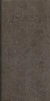 Kiasmos Brown Stopnica Prosta 30x60