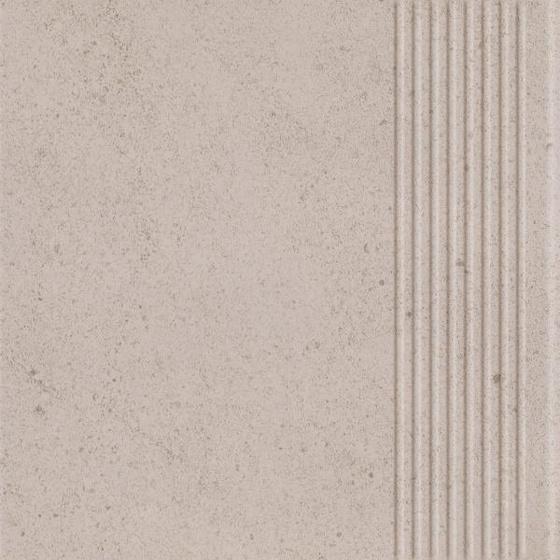 Algo Bianco Stopnica Prosta Mat 30x30