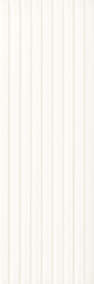 Elanda Bianco Struktura Stripes 25x75