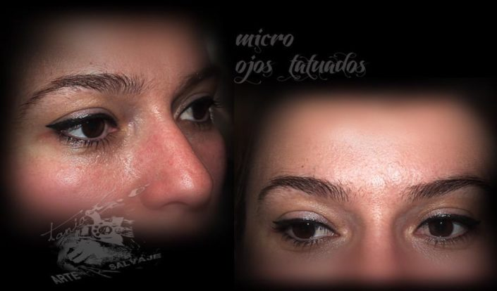 Micro Ojos Tatuados Tattoo Valencia