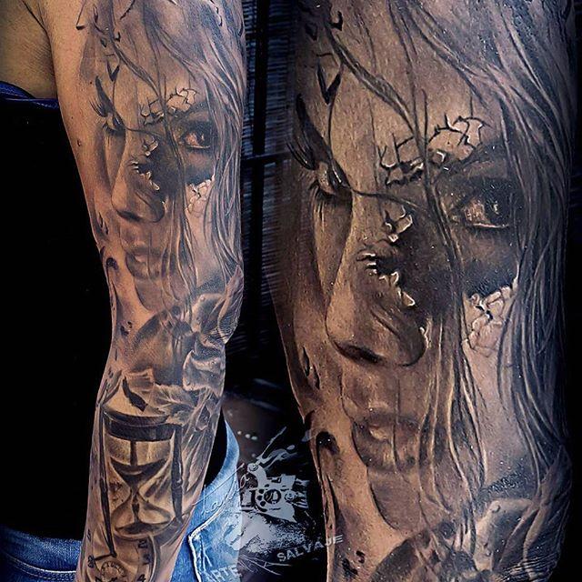 Tatuajes Realistas El Rostro De Alguien Especial En Tu Piel