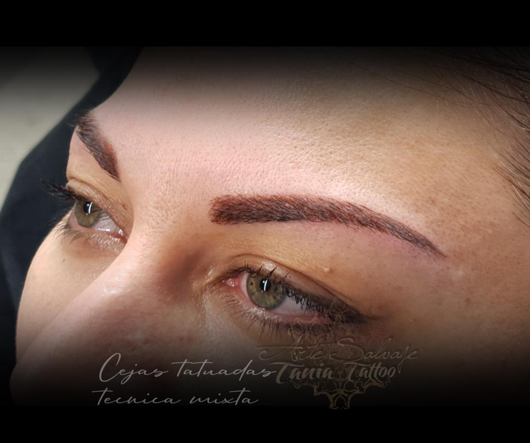 cejas perfectas tatuadas `micropigmentacion pelo a pelo microblading en valencia
