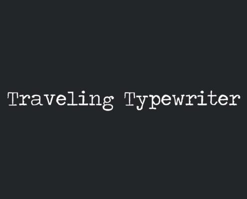 Tipografía Tatuajes Traveling-Typewriter - Tania Tattoo