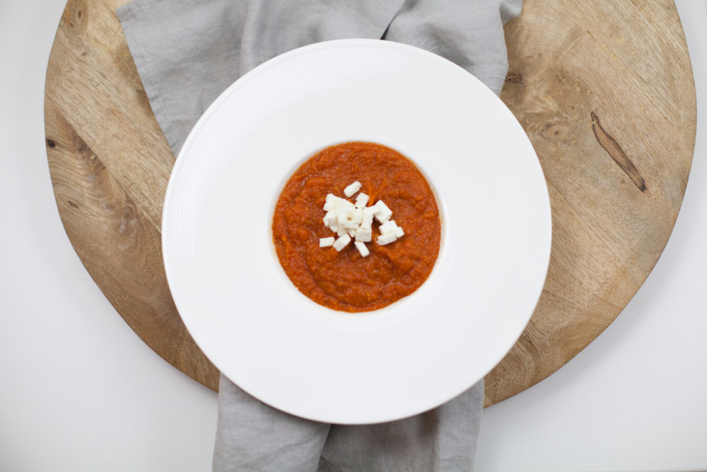 Feurige Linsensuppe