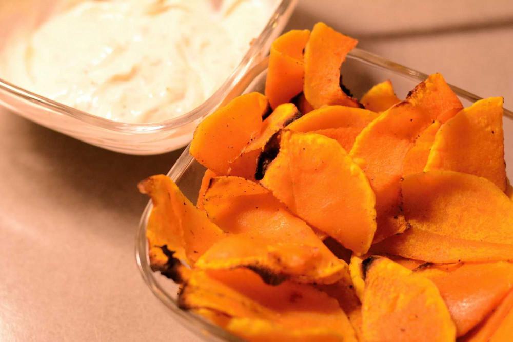 TIME2TRI Rezept-Tipp: Kürbis-Chips