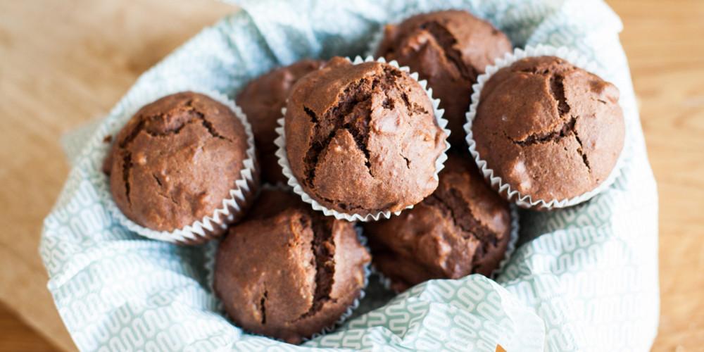 orientalische Dattel-Walnuss-Muffins
