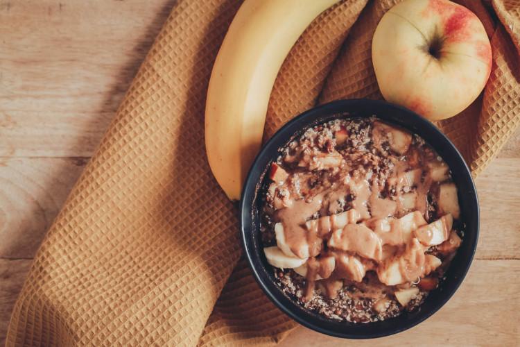 Sattmacher am Morgen: wärmendes Omega3-Porridge