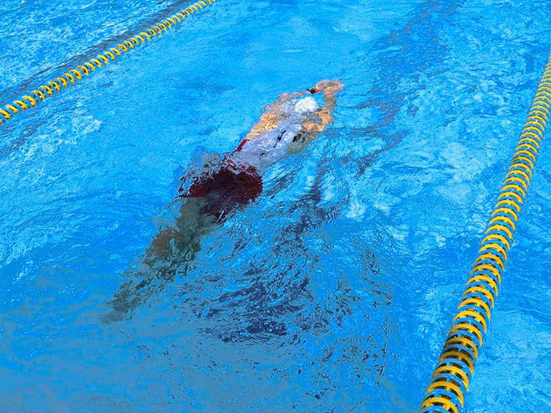Die Basis einer Schwimmwoche