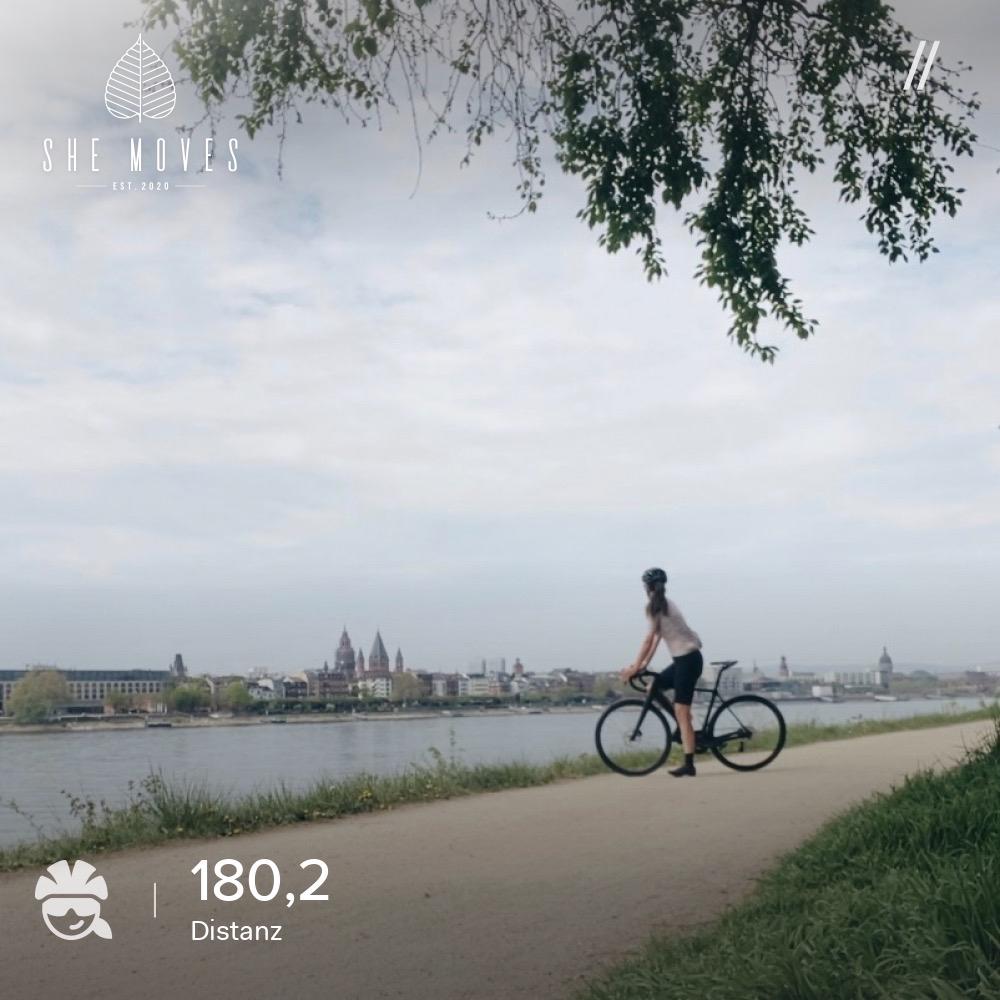 180km- meine bislang längste Einheit auf zwei Rädern