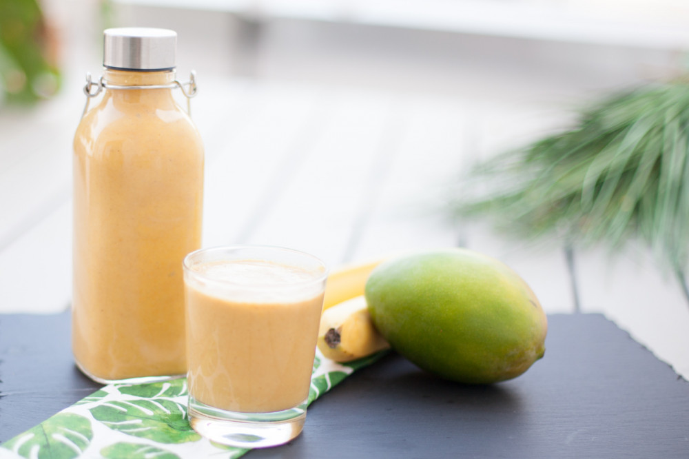 Goldene Milch mal anders: the golden Smoothie
