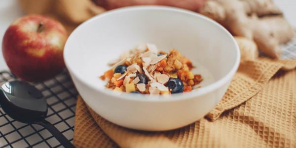 Orientalisches Frühstück für einen glücklichen Darm
