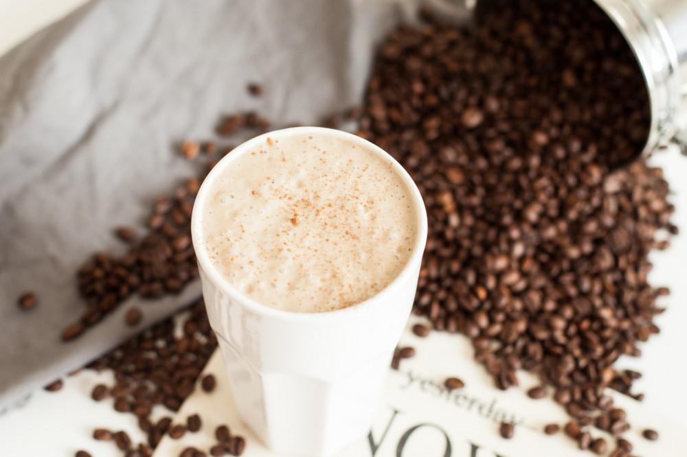 Eiskaffee mal anders: unser Smoothie der Woche