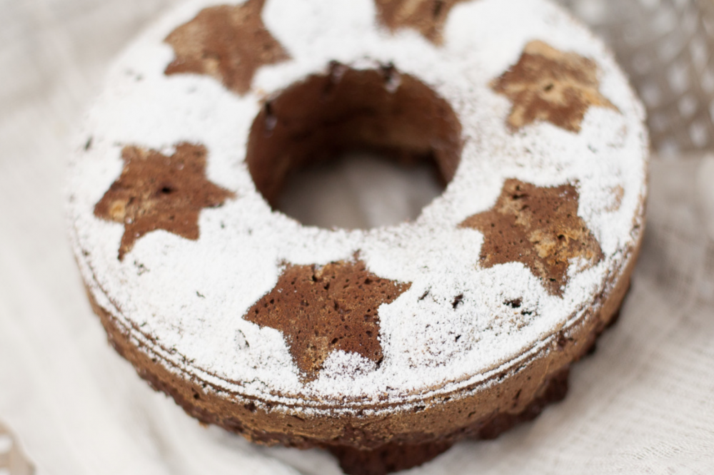 Perfekt für den Weihnachtskaffee: gesunder Gewürzuchen