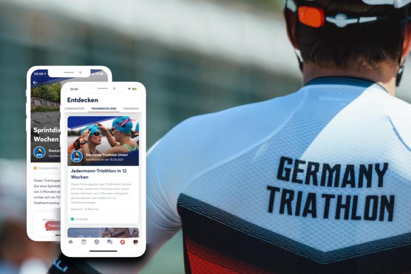 Trainingspläne der Deutschen Triathlon Union bei TIME2TRI
