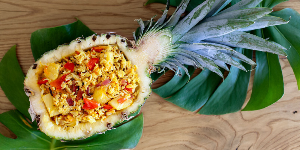 KONA-Special: Reissalat mit Ananas