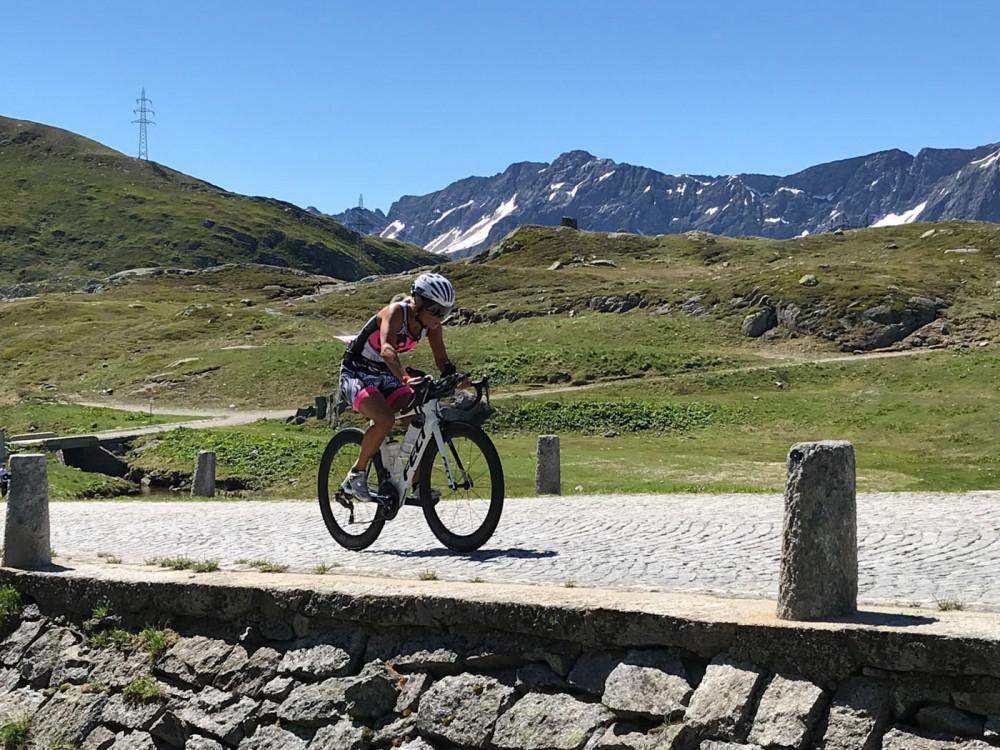 Den Swissman finisht man mit dem Herzen - Rennbericht von Dominique