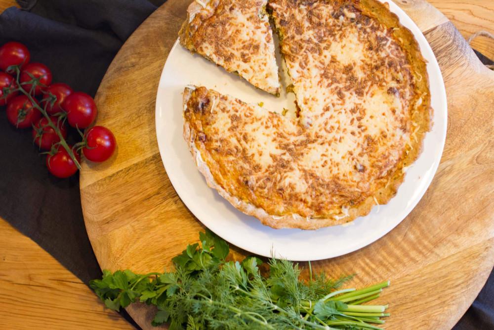 Rezept-Tipp: vegetarische Kräuter-Quiche