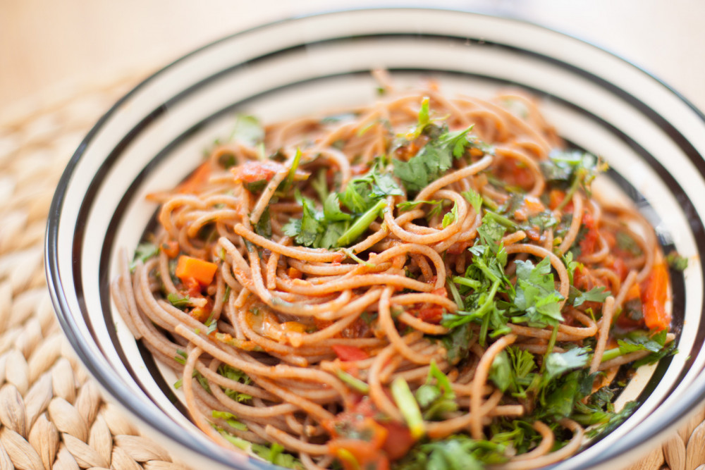 Pastaparty mal anders: Spaghetti Korrabiata