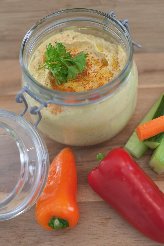 Rezept-Tipp: Hummus - der orientalische Power-Dip