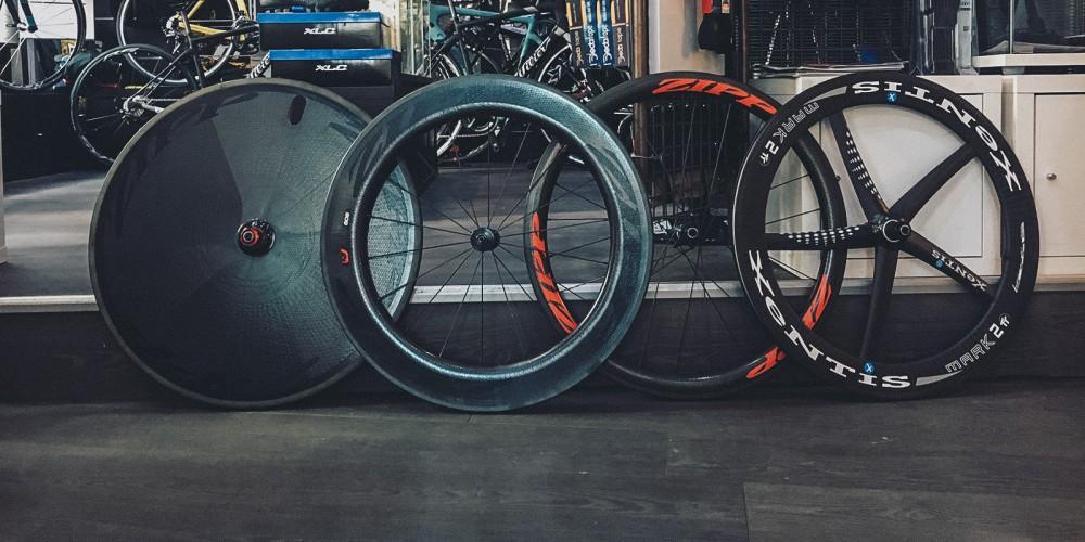 Aerodynamik im Triathlon: Hochprofillaufräder, Scheibe & Co.