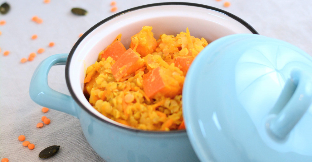 Rezept-Tipp: Rote Linsen Kürbis Curry