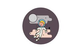 Space Kid Logo