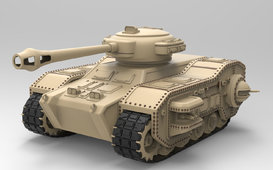 Tank 3d model