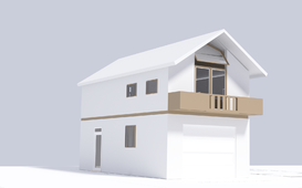 3D House Animation for Blender - منزل 3D
