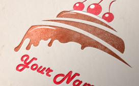 شعار يصلح ل مرطبات او محل حلويات