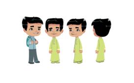 فتى عربي