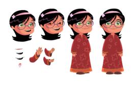 فتاة عربية