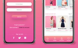 Fashion - Mobile Application Ui / Ux