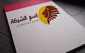 شعار شركة على شكل أسد