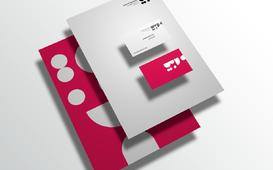 قالب للهوية البصرية    Brand stationery Free mockup
