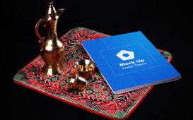 مجموعة مطبوعات بطابع عربي اسلامي
