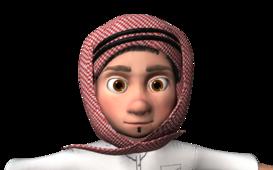 شخصية عربية. الدرباوي