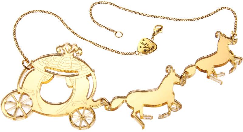 Tatty Devine Horse & Carriage