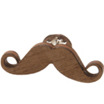 Moustache Pin