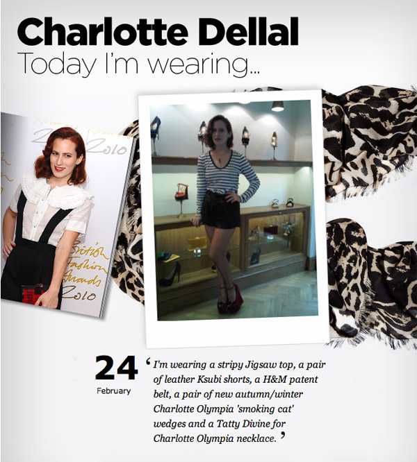 Charlotte Dellal on Vogue.co.uk