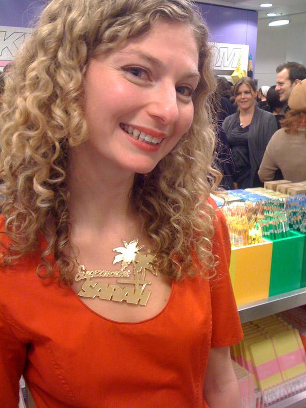 Supermarket Sarah at Selfridges - Sarah Bagner