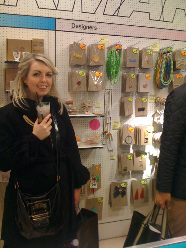 Tatty Devine at Supermarket Sarah at Selfridges