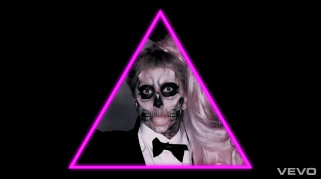 Lady Gaga 'Born This Way' bow tie