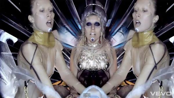 Lady Gaga 'Born This Way' eyes