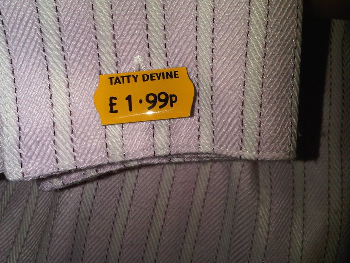 Price Ticket Cufflinks