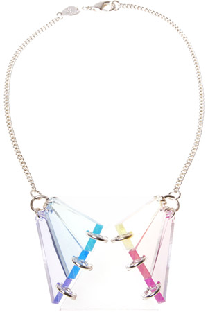 Tatty Devine Prism Light Necklace