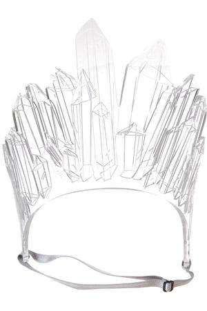 Tatty Devine Quartz Crystal Headpiece